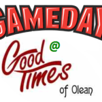 Game Day at Good Times Fundraiser – August 13th, 2016